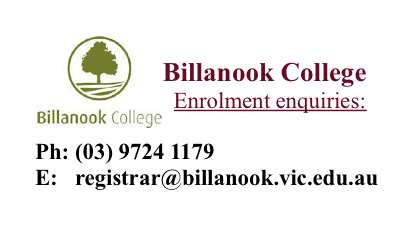 Billanook College Tour